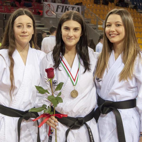 budokan karate squadra femminile1