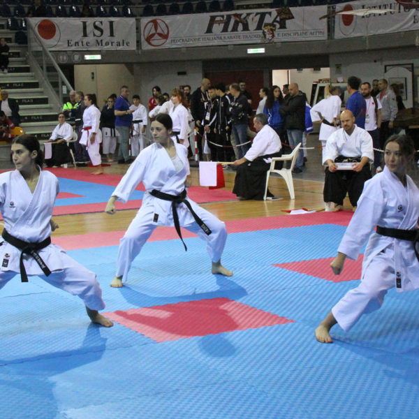 budokan karate squadra femminile2