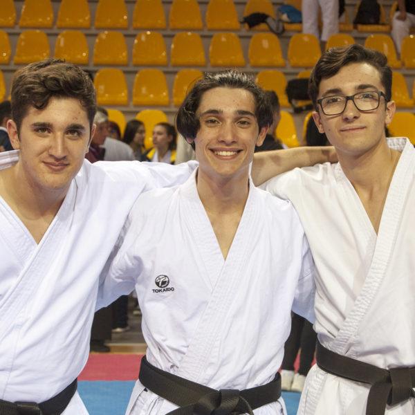 budokan karate squadra maschile1
