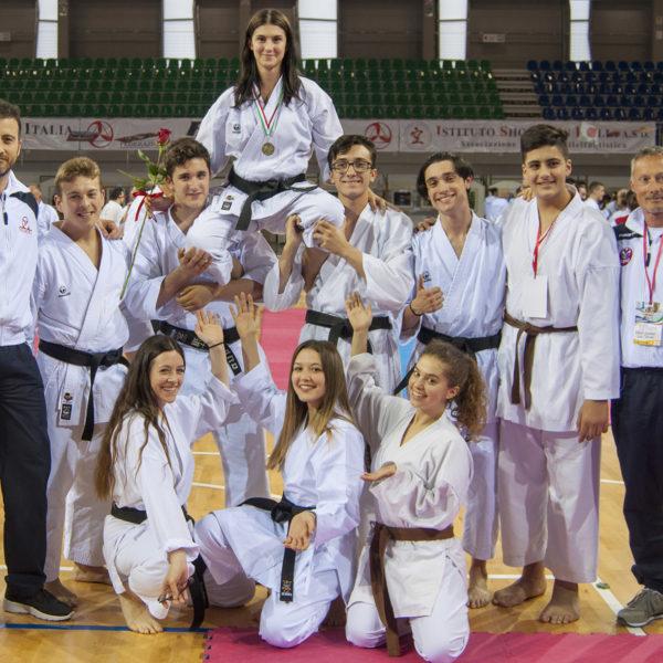 budokan karate vera guida e gruppo