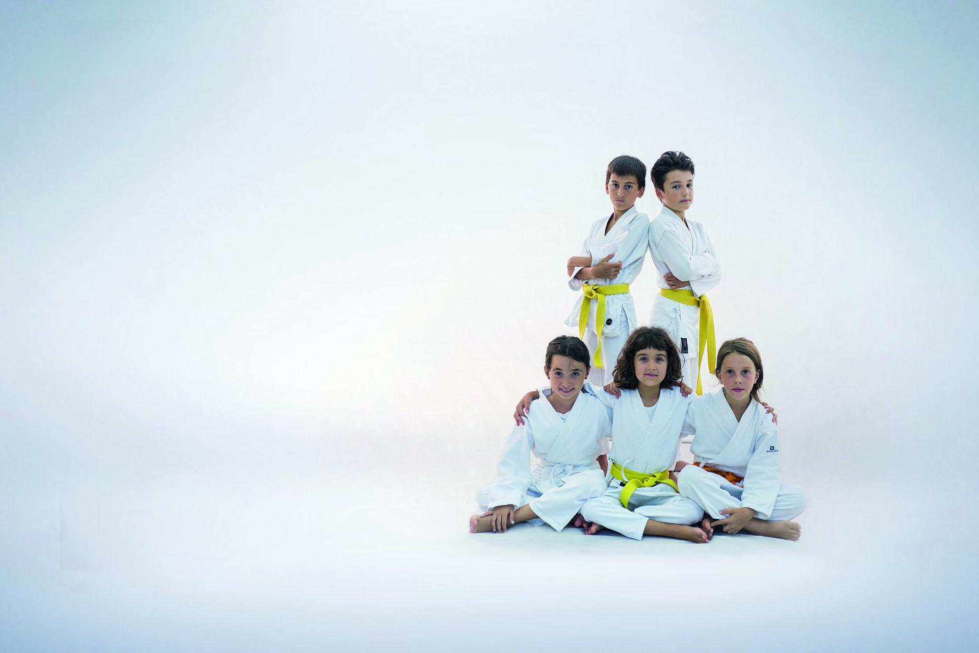 Il Karate si pratica con mani e piedi ma lo si vive con il cuore